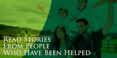 Read Stories from People Who Have Been Helped